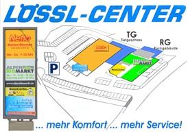 Das Lössl-Center im Überblick